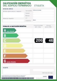 Registro Certificado Energético Madrid ITE